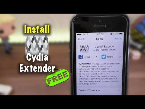 Install Cydia Extender NO Developer Account
