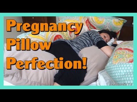 Pregnancy Pillow to Get Comfortable!!
