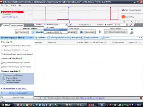 ANTS Memory Profiler 5: How to find a memory leak (2 of 2)