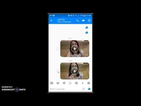 Time Hack - Sending Videos on Facebook Messenger