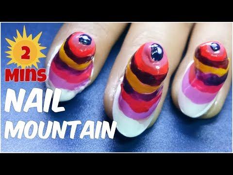 Make Nail Polish Tower in 2 Minutes - CHALLENGE