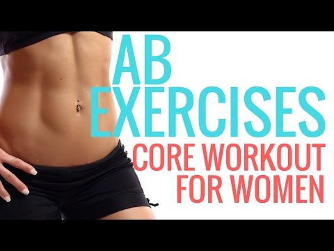 Workouts for Women - Ab Exercises - Christina Carlyle