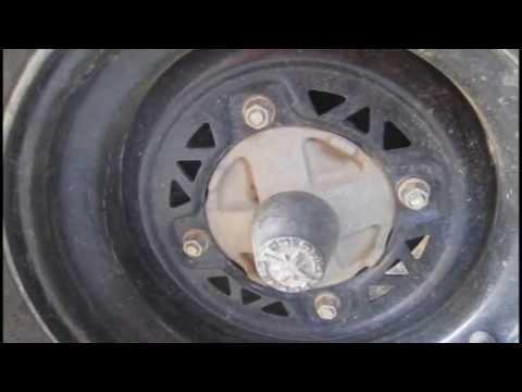 Polaris Sportsman Rear Wheel Bearing Removal - DIY ATV Rear Axle Bearing Replacement Part 1