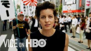 The Japanese Citizens Prepared to Defend Their Country  - VICE on HBO (Preview)