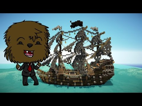 Minecraft BUILD MASTERS (PIRATE SHIP)