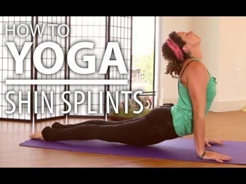 Yoga For Shin Splints - 10 Minute Leg Stretch Yoga For Shin Splints Treatment & Other Leg Pain