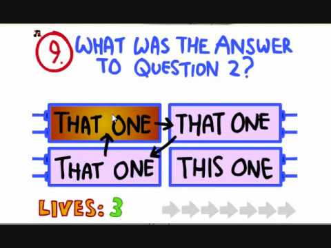 Let's Play The Impossible Quiz: Part 3: 40...41...