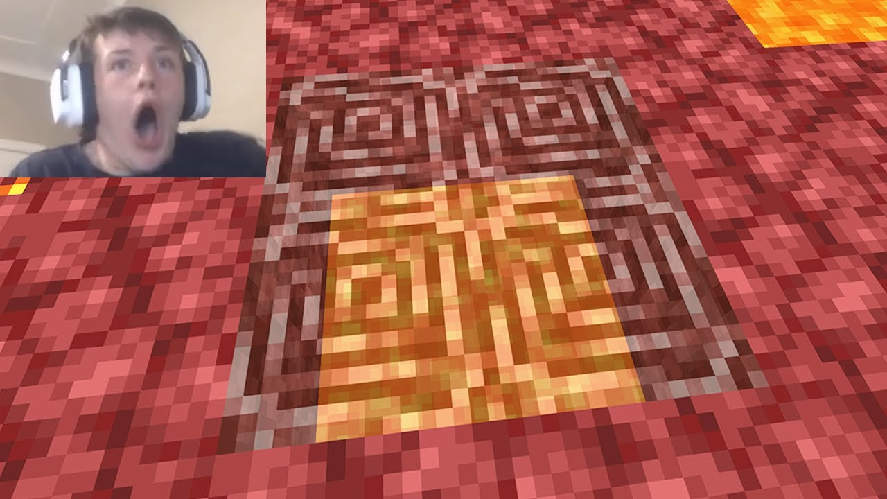 I trolled a Streamer with fake netherite in Minecraft...