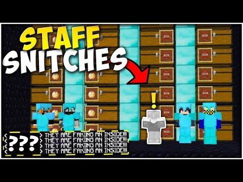 STAFF MEMBER SNITCHES ON $32 BILLION INSIDE RAID! | Minecraft Factions #576
