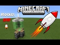 How To Make Rocket Ship - Minecraft PE