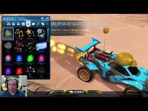 Rocket League Alpha and Beta Rewards and How We Got Them
