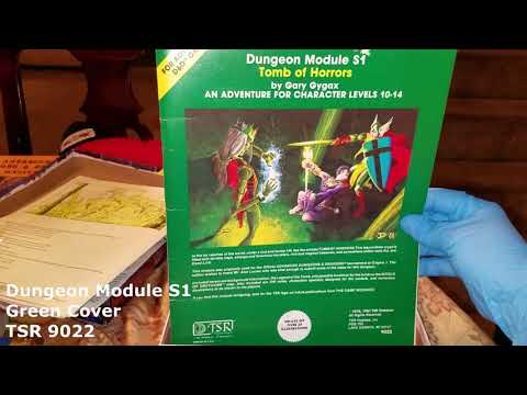 35 Year Old Dungeons and Dragons Books Discovered