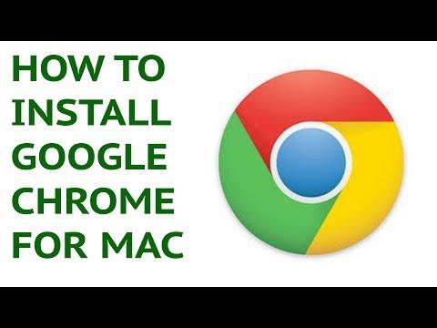 [Chrome Tutorial] How to Install Google Chrome for Mac