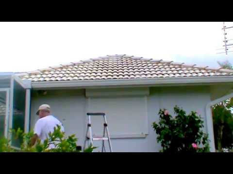 Tile Roof Cleaned C. Bergman Roof Cleaning By Soft-Washing 33948