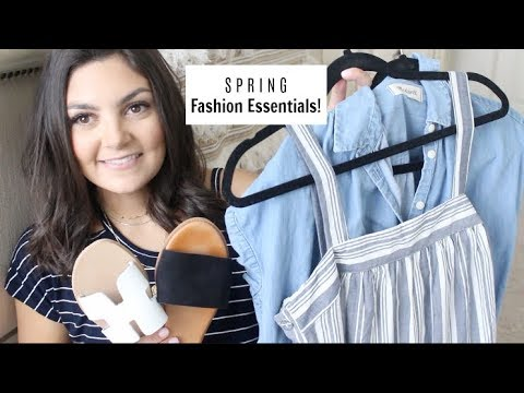 Spring Fashion Haul & Closet Essentials!