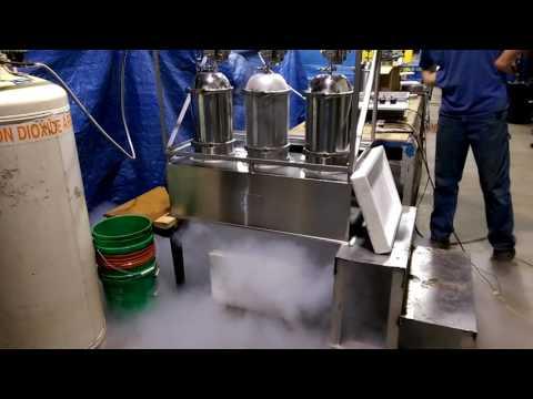 Testing of a single CO2 snow hood horn