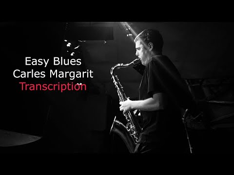 How to play Blues: Easy Blues(Bb). Played&Written by Carles Margarit