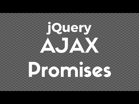 An Intro to AJAX Promises in jQuery