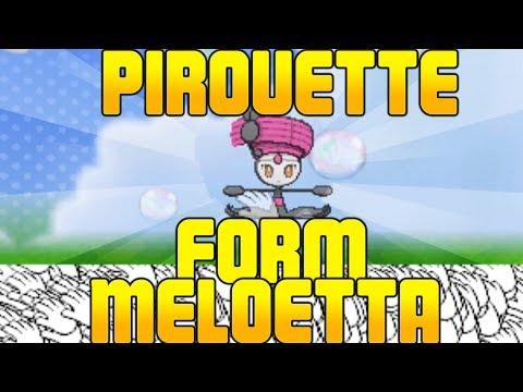 Pirouette Form Meloetta Experiments