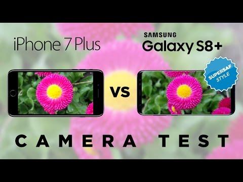 Samsung Galaxy S8 vs iPhone 7 Camera Test Comparison