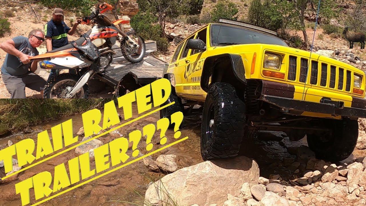 Matt took his trailer where?!? (KTM motorcycle rescue)
