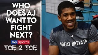 Joshua to face Wilder at Wembley? Inside Anthony Joshua