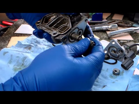 Honda CEL 21 and 22 - How to troubleshoot and clean VTEC solenoid assembly