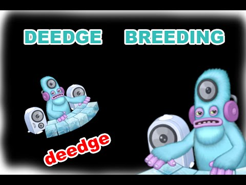 My Singing Monsters How To Breed Deedge in Cold Island (and SOUND!)