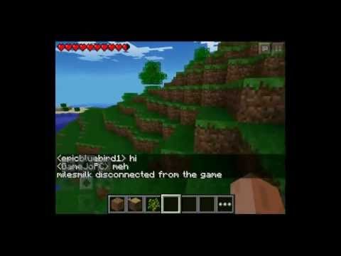 Minecraft Pocket Edtiion 0.7.1 Realms Livestream