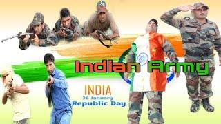 INDIAN ARMY || REPUBLIC DAY SPECIAL🇮🇳||26 JANUARY ||Jaat vs Gujjar vs Rajput || AKC DIWANA.