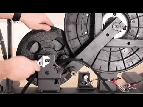 Replacing the Drive Belt - Elliptical - Frame Style B