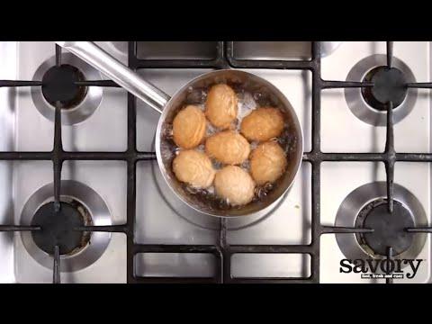 Boiling eggs – Savory