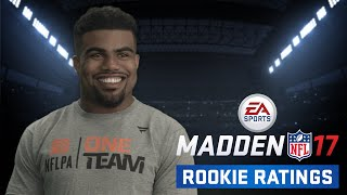 NFL Rookies React to Madden 17 Ratings