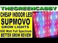 CHEAP INDOOR LED GROW LIGHTS - SUPMOVO 600 Watt LED GROW LIGHT Full Spectrum UV & IR INDOOR GROW