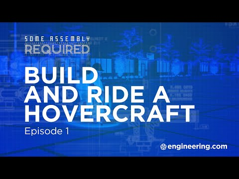 Build and Ride a Hovercraft