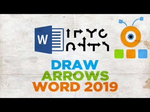 How to Draw Arrows in Word 2019   How to Insert Arrow in Word 2019