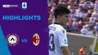 Udinese v AC Milan | Serie A | Match Highlights
