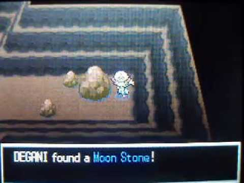 Pokemon Black/White - How to get Moon Stone
