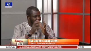 Sunrise Daily: Focus On Ese Oruru's Abduction --- 04/03/16 Pt. 2
