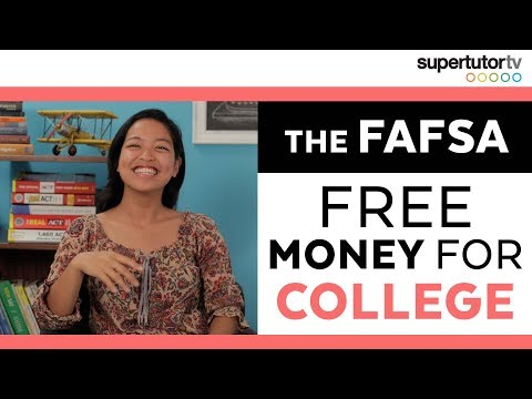 FREE MONEY FOR COLLEGE!!! | How to Pay for College: Part 3 - The FAFSA