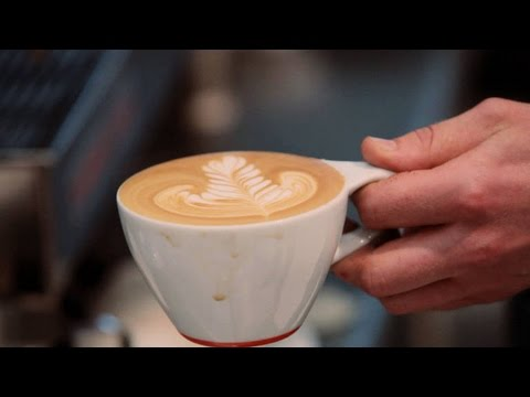 How to Make a Latte Art Rosetta | Perfect Coffee