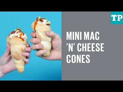 How to make Mac 'n' Cheese Cones