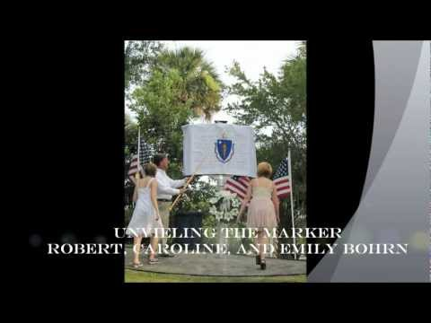 REB Digs; S. C. Historical Marker Ceremony For The 55th Massachusetts On Folly Beach S.C.