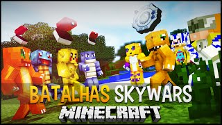 Minecraft: Pokémon Vs Digimon - Batalhas SkyWars