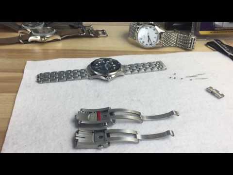 Omega seamaster 300 professional ceramic adjustable clasp upgrade