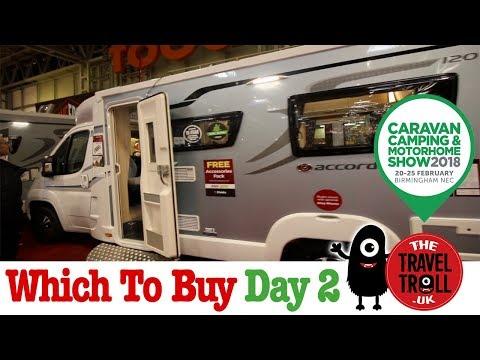 Caravan, Camping & Motorhomes Show NEC 2018 Part 2