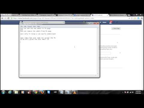 how to remove the facebook page admin and replace the  owner
