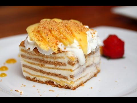 How to make Filipino mango float