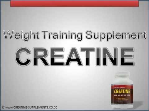 Weight Training Supplement - Creatine