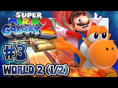 Super Mario Galaxy 2 - Part 3 (1080p 60FPS 100%): World 2 w/Facecam